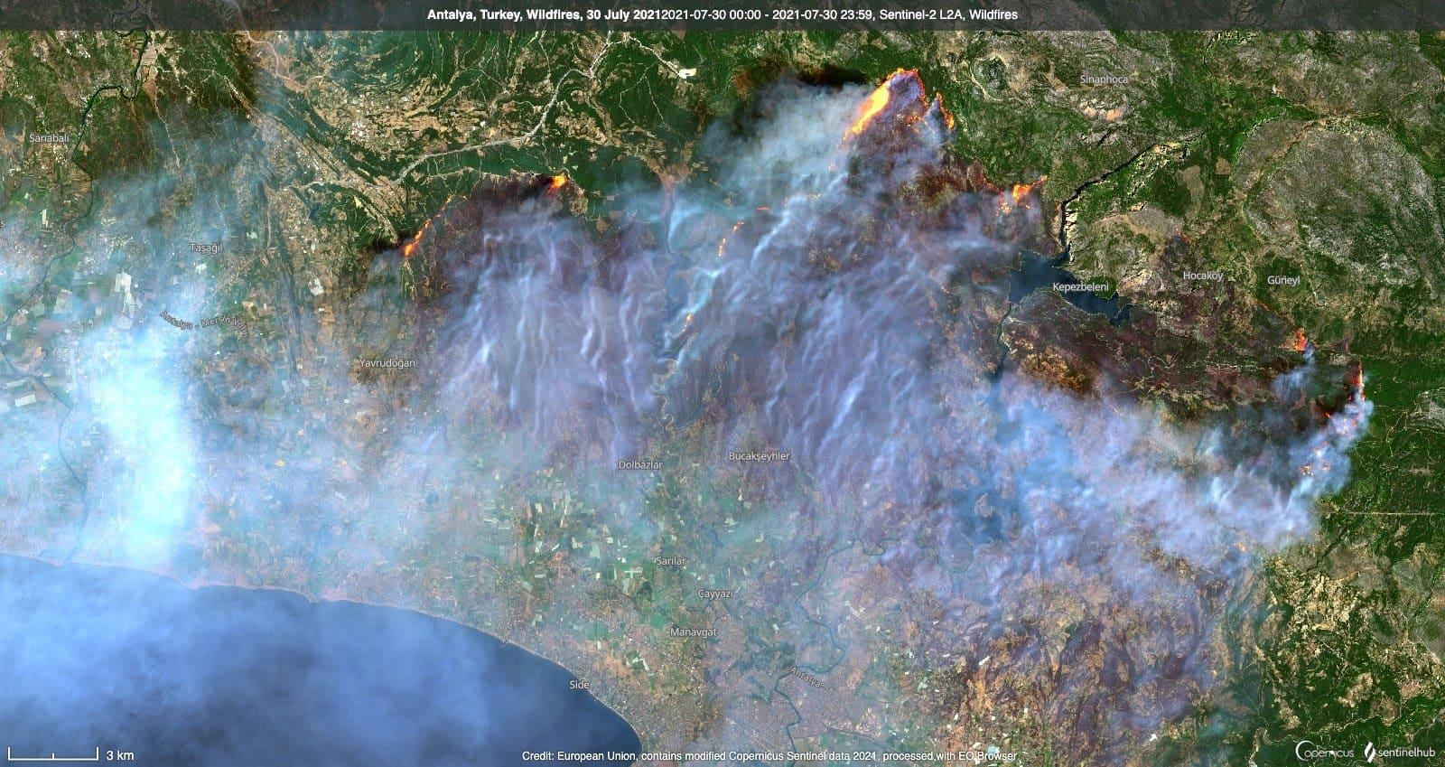 Yangınları açık kaynaklardan nasıl takip edebiliriz?